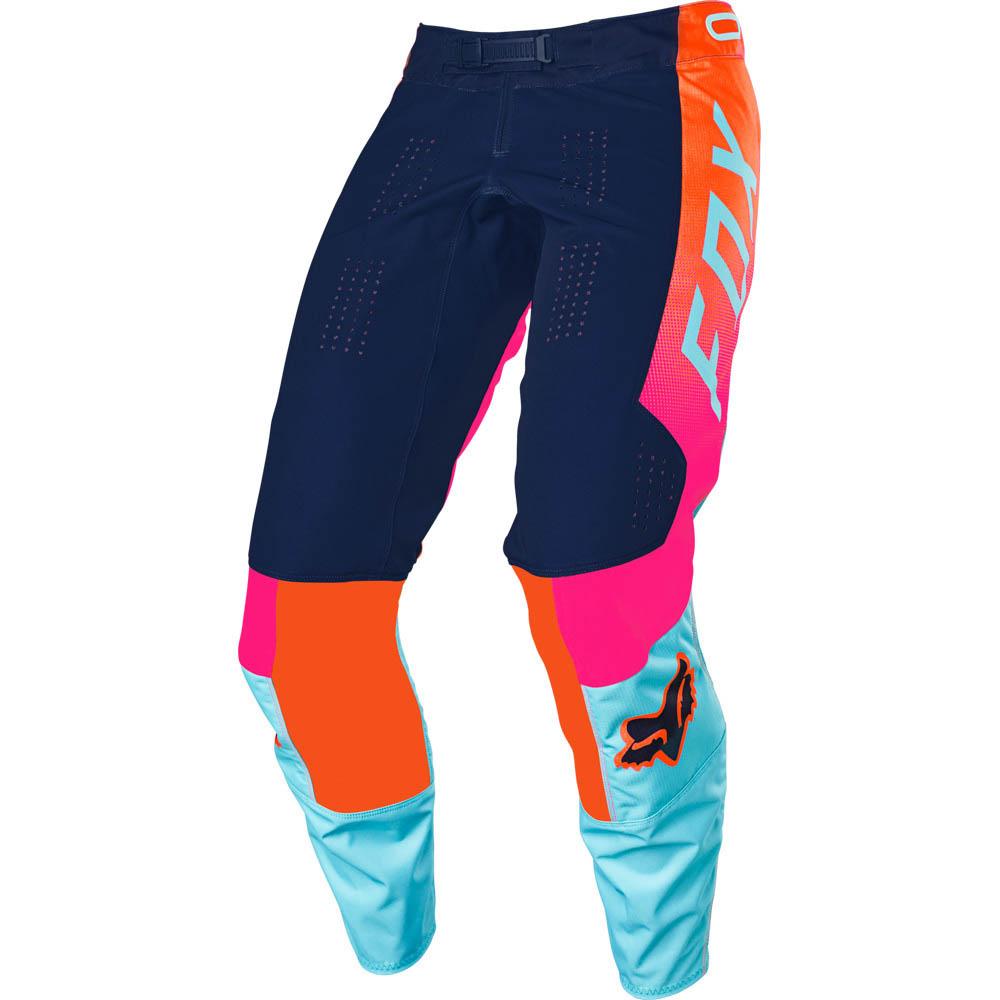 Fox 2021 360 Voke Aqua штаны для мотокросса