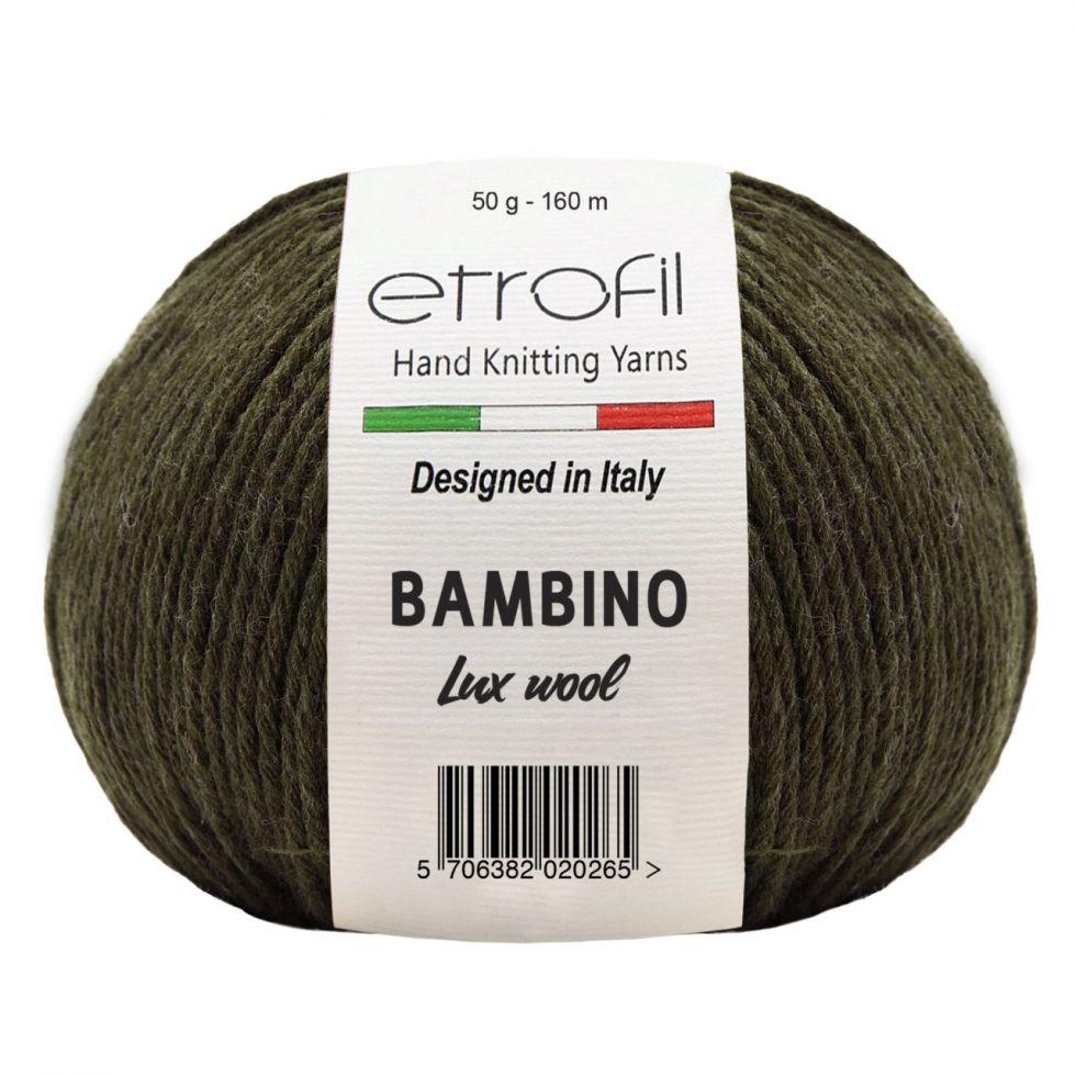 BAMBINO LUX WOOL Цвет №  70410