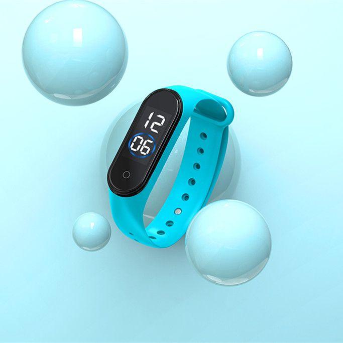 EZRA SW23 Голубые часы наручные