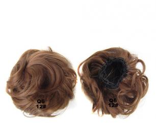 """Искусственные термостойкие волосы - Шиньон """"Пучок"""" #012, вес 60 гр"""