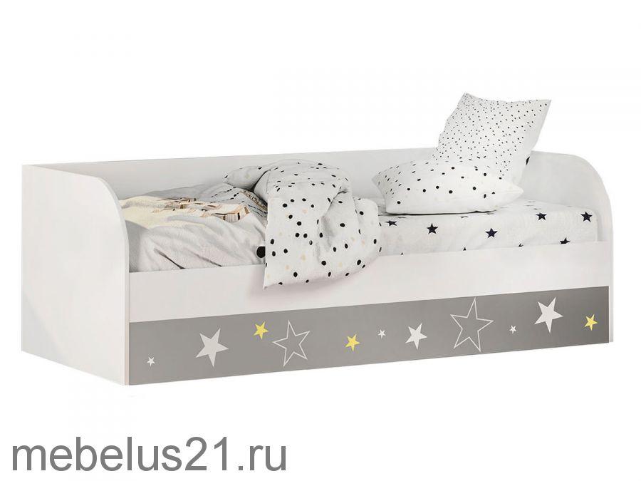 Кровать детская с бортиком Трио