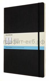 Книжка зап.Moleskine А4 Classic Soft пунктир черная QP644