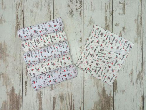 Пеленки для новорожденных теплые C-PE600-ITn /95х110/ LOVE