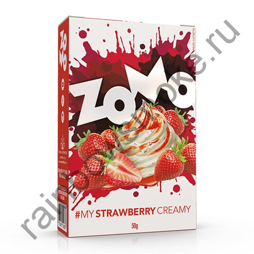 Zomo Classics Line 50 гр - Strawberry Creamy (Клубника и Крем)