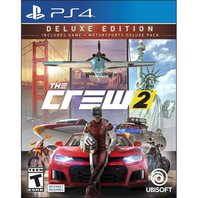 Игра The Crew 2 Deluxe Edition (PS4)