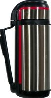 Термос для напитков Steel Red Line с кнопкой 1,5 литра