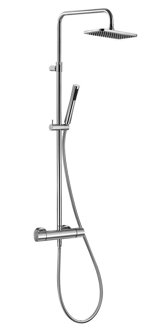 Стойка Kludi A-Qa Dual 4909505-00 для ванны и душа с термостатом ФОТО