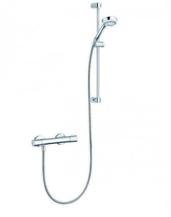 Душевая система Kludi Logo Duo Shower 6857605-00 с термостатом ФОТО