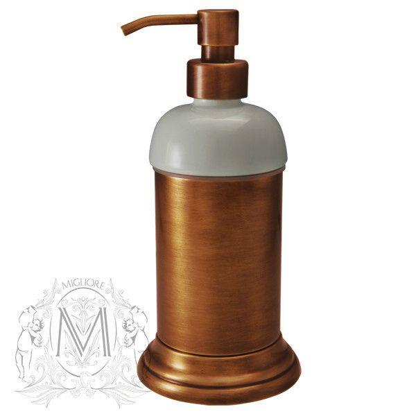 Дозатор жидкого мыла Migliore Mirella ML.MRL-4412.RA - медь ФОТО