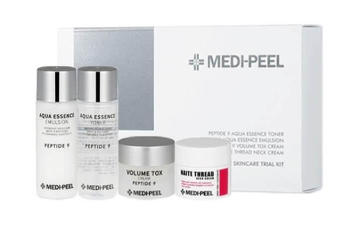 Набор омолаживающих средств с пептидами Medi-Peel Peptide 9 Skincare Trial Kit