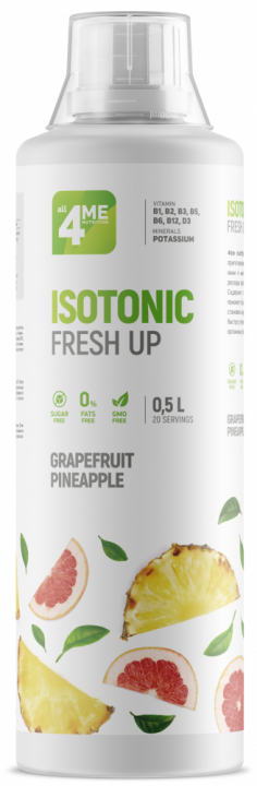 4Me Nutrition - Isotonic Fresh Up