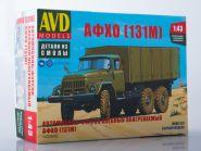 Сборная модель Автомобиль-фургон хлебный обогреваемый АФХО (131М)
