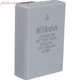 Аккумулятор EN-EL14a для Nikon