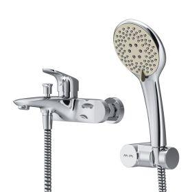 Смеситель для ванны и душа c душевым набором AM.PM Like F8015000
