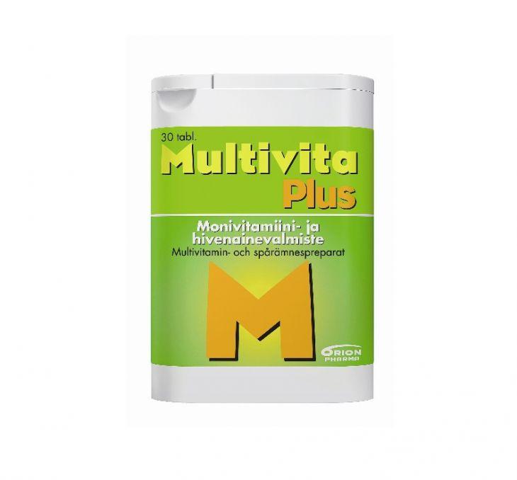 MULTIVITA PLUS 30 таблеток