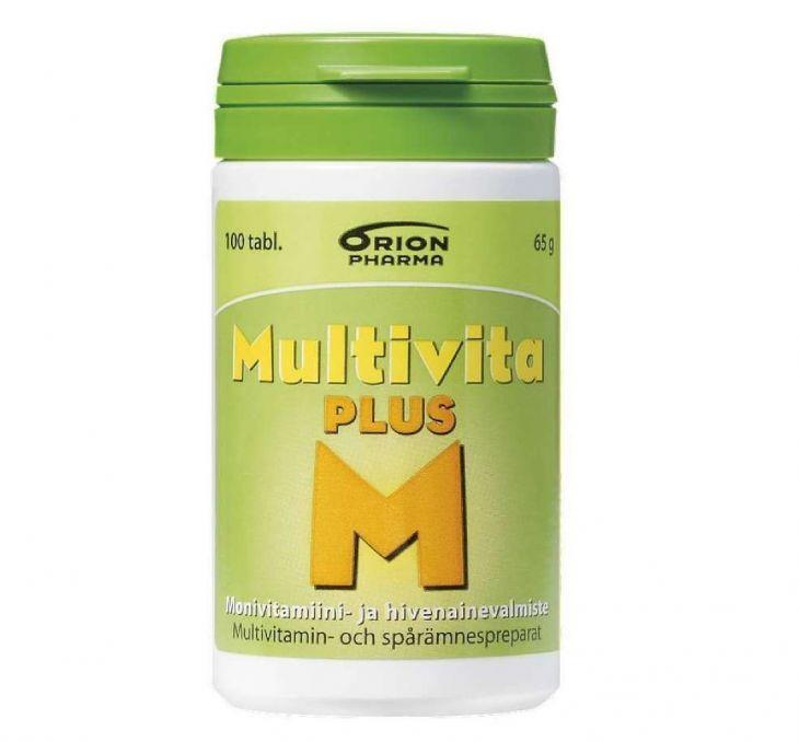 MULTIVITA PLUS 100 таблеток