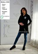Туника для беременных и кормящих 4026 серый