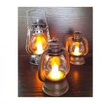 Ретро керосиновая лампа мини 9 см