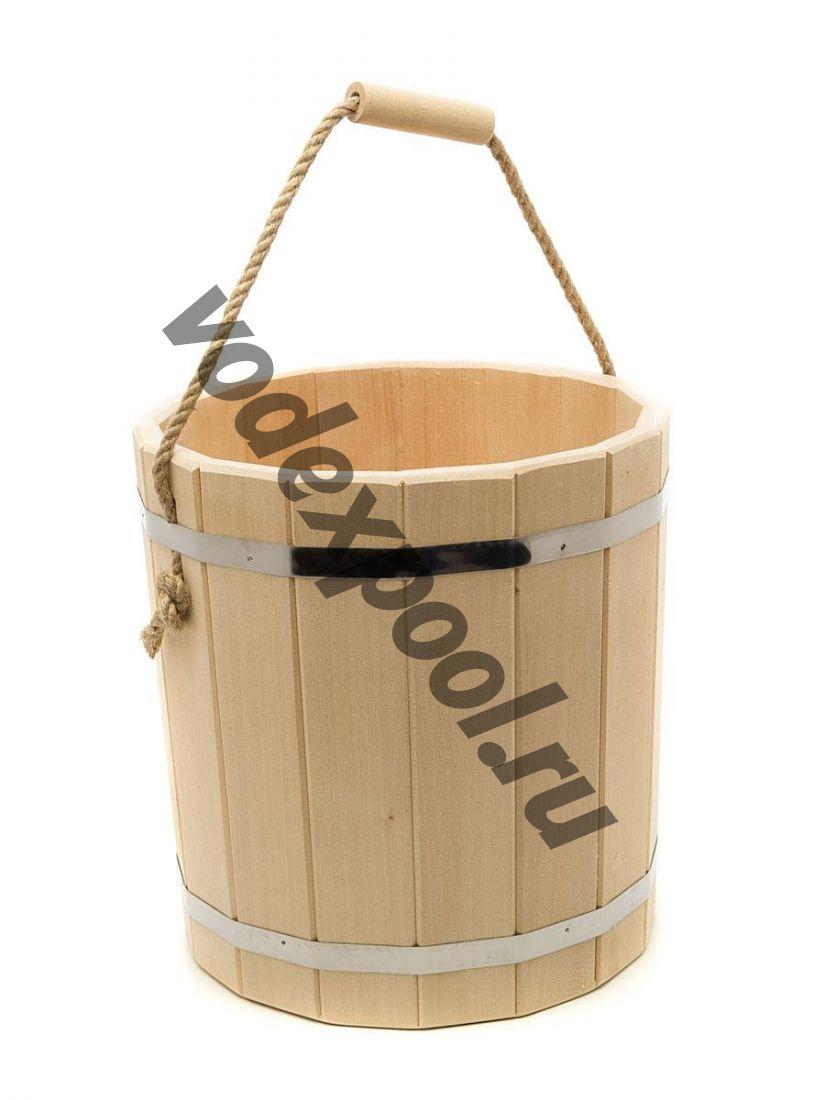 Ведро деревянное 10 л