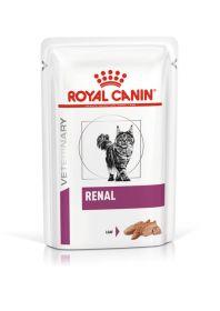 Royal Canin Renal Ветеринарная диета для взрослых кошек с хронической болезнью почек (паштет), 85 гр