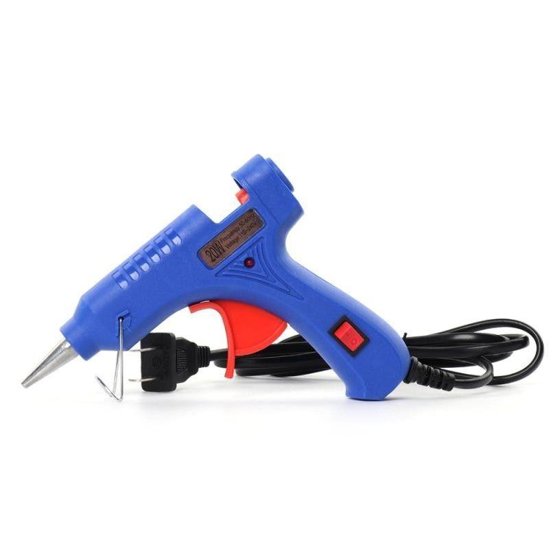 Термоклеевой пистолет с выключателем на рукоятке