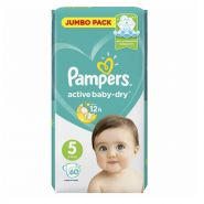 Pampers Active Baby 11-16кг, 60шт