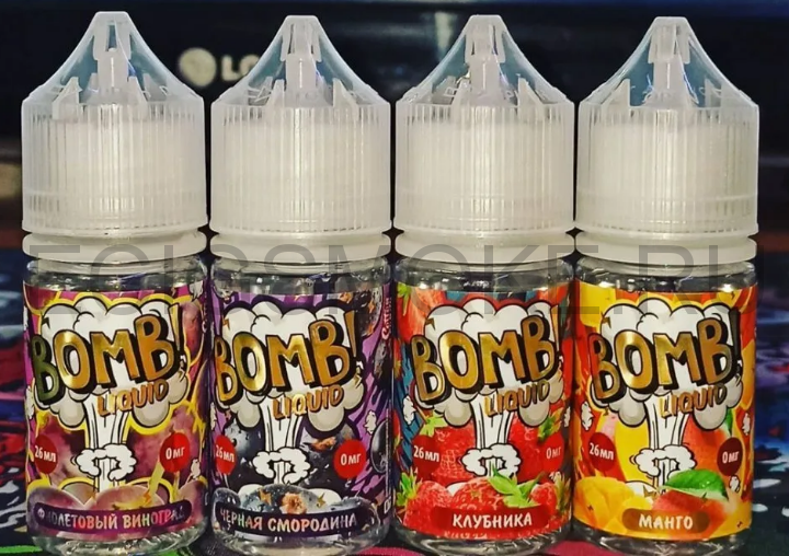 BOMB! LIQUID Salt by Cotton Candy - 25 mg; 50/50; 30 мл