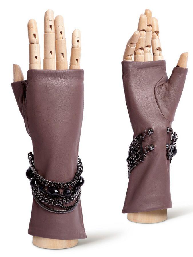 Перчатки без пальцев, митенки ELEGANZZA
