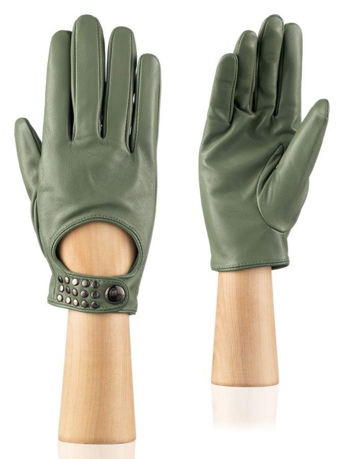 Короткие кожаные перчатки LABBRA