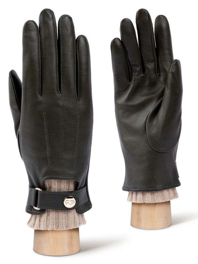 Зеленые женские перчатки LABBRA