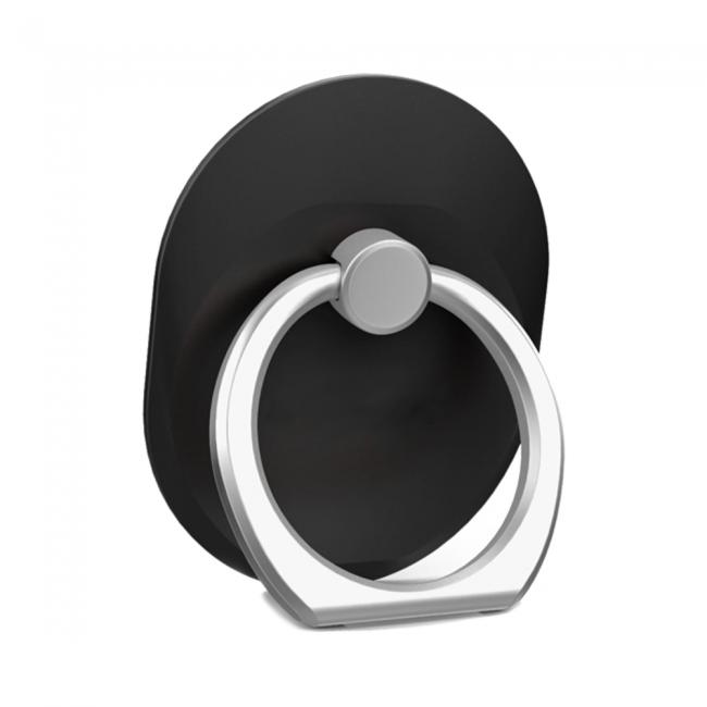Кольцо-держатель для телефона черное
