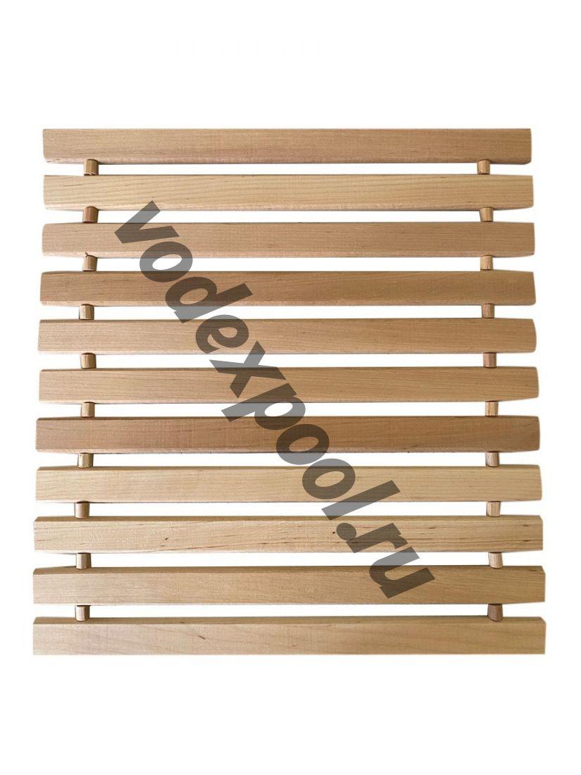 Коврик деревянный 40x40