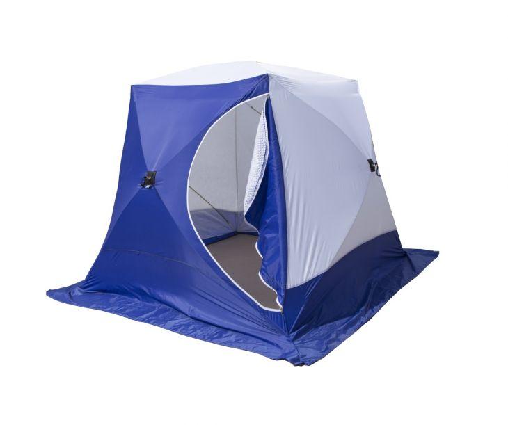 Палатка КУБ-3 трехслойная дышащая СТЭК 2,2*2,2*1,8