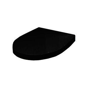 Сиденье для унитаза с крышкой Roca Victoria Nord Black Edition ZRU9302627 с микролифтом ФОТО