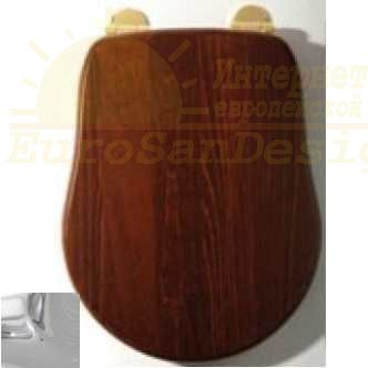 Сиденье для унитаза Migliore Bella ML.BLL-26.110.NC.CR ФОТО