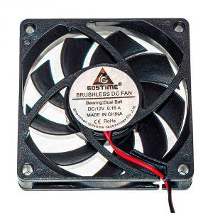 Осевой вентилятор корпусной 60х60х10мм 12В