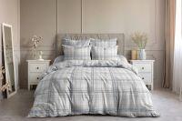 Поплин семейный [серый] Гарди постельное белье