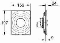 Кнопка для инсталляции Grohe Surf 38574P00