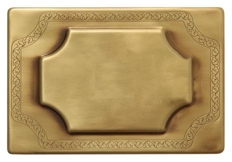 Декоративная панель слива Migliore бронза ML.PLC-27.053.BR ФОТО