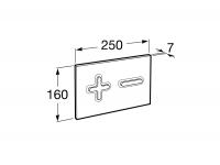 Кнопка смыва Roca PL6 Dual 890085005