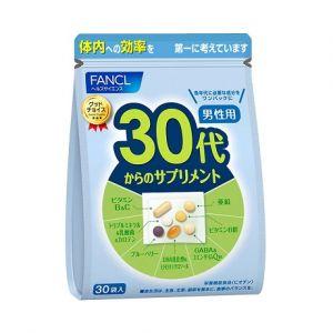 FANCL Комплекс витаминов для мужчин от 30 до 40 лет