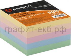 Куб 8,5х8,5 500л.5цв.пастель Lamark81