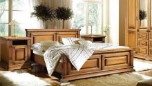 Кровать ВЕРДИ ЛЮКС П434.08м с высоким изножьем 1600