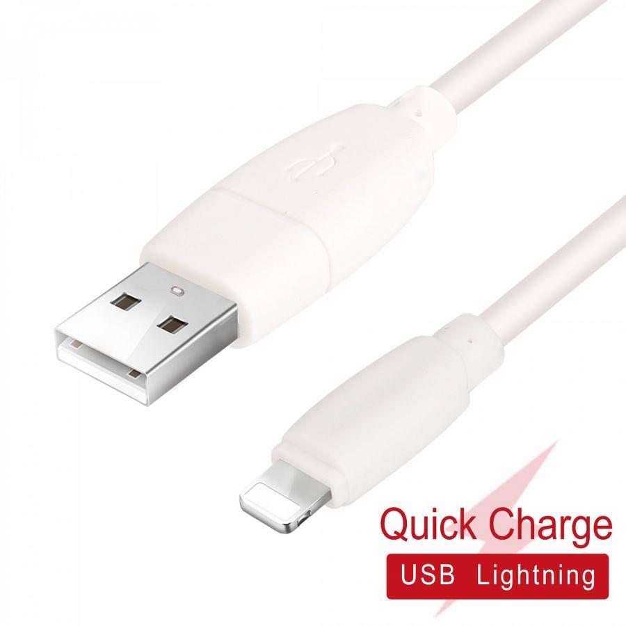 MUJU MJ-75 кабель USB 2A (iOS Lighting) 1м