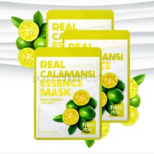 Тканевая маска с каламанси Farm Stay Calamansi Essence