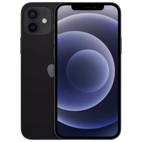 Смартфон Apple iPhone 12 64Gb A2404 (Black) 2 Sim