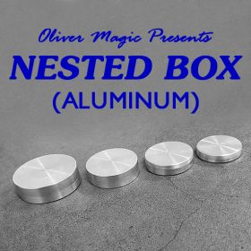 Nested Box (Aluminum) by Oliver Magic