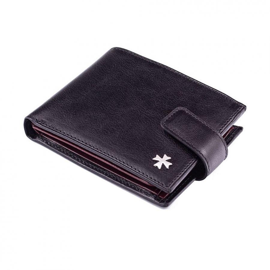 Кожаное портмоне Narvin 9661-N.Vegetta Black