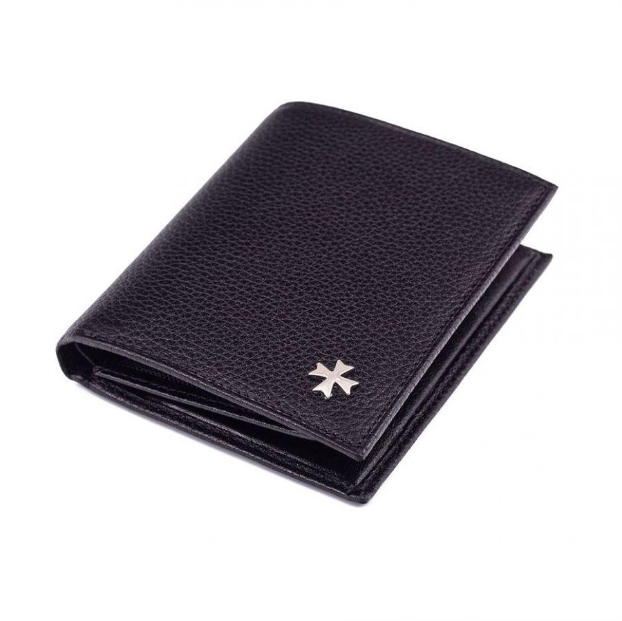 Кожаное портмоне Narvin 9640-N.Polo Black