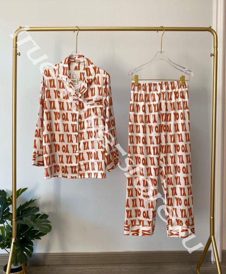 720184 - Цена за 2 шт, Пижама двойка VS Орнамент YO (L,XL)